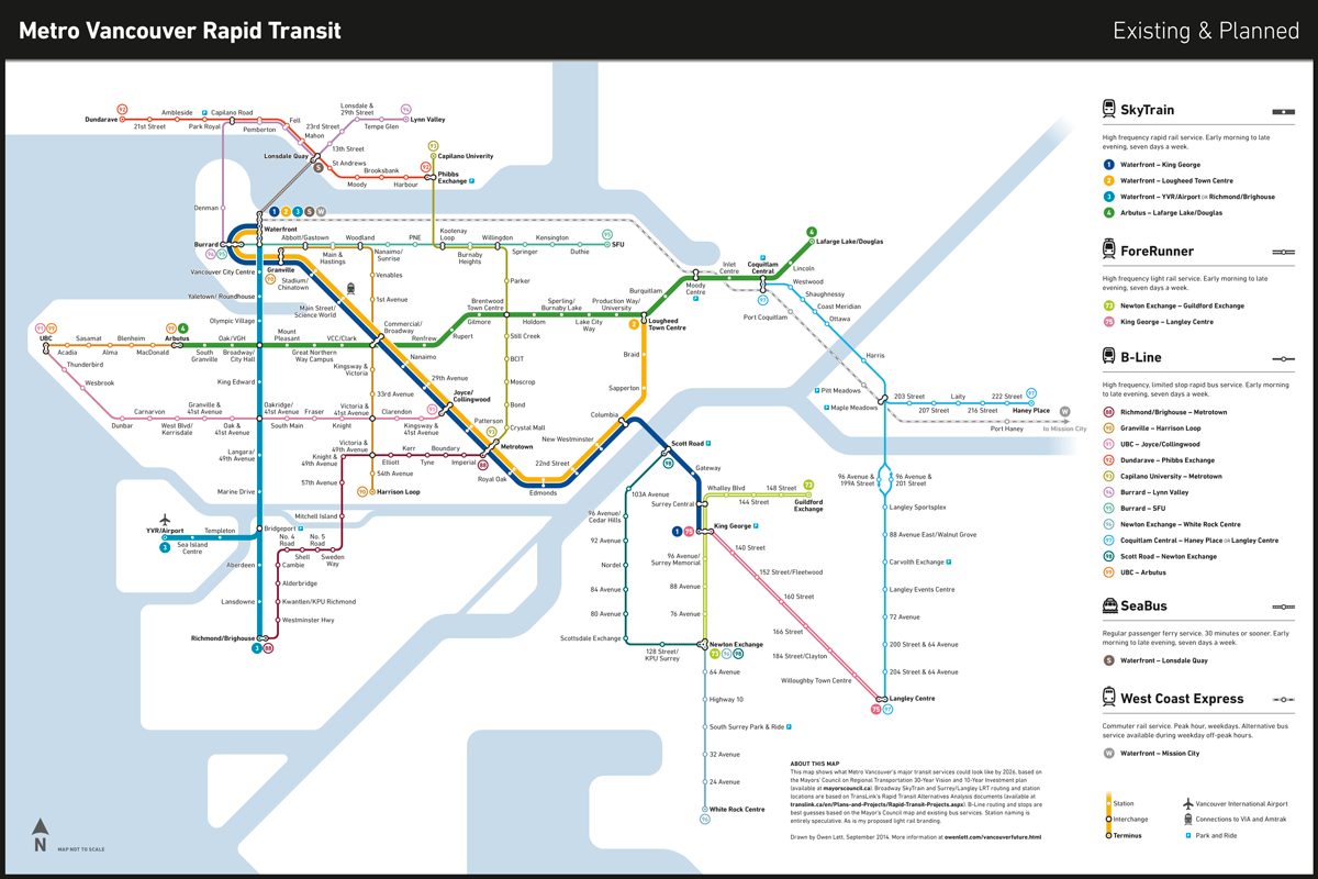 New SkyTrain Routes: M...