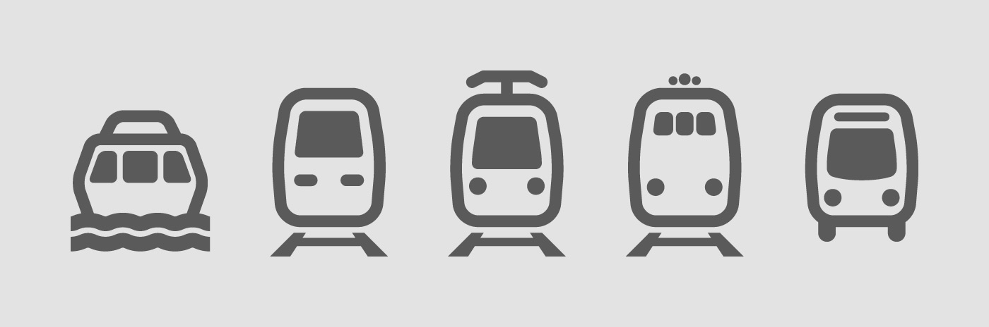 Vancouver Transit Icons