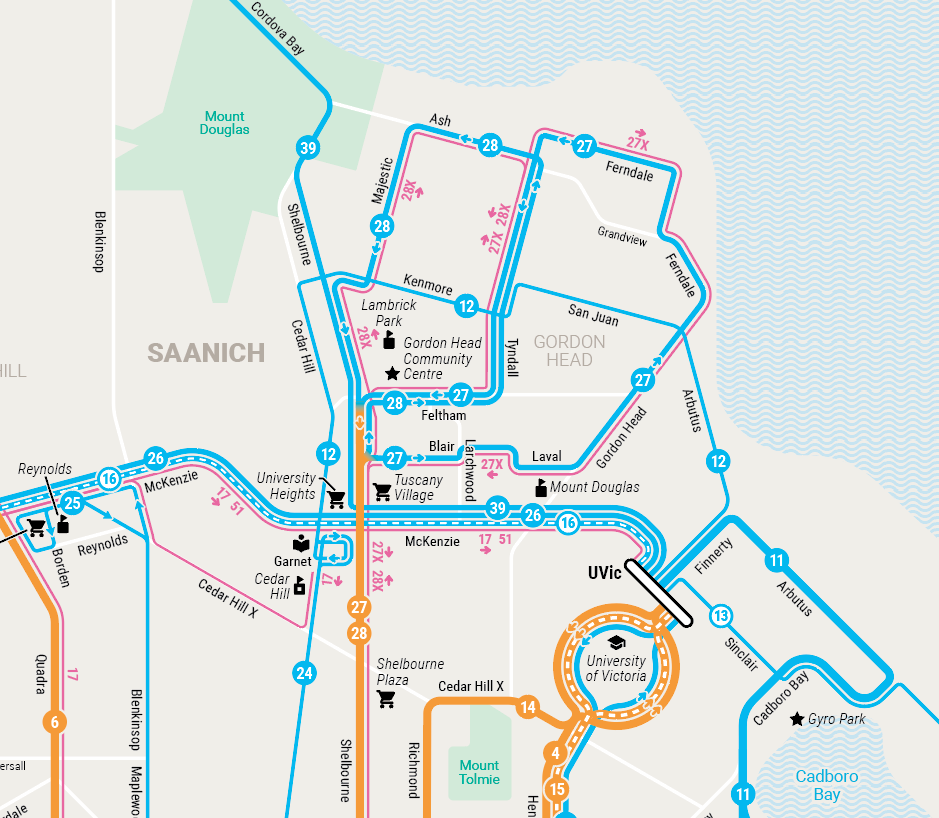 Victoria Frequent Transit Map – January 2017 Update